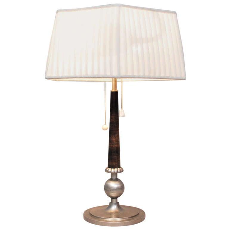 Tinn Table Lamp 1925-1935 1