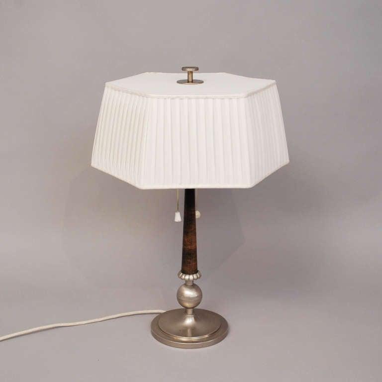 Tinn Table Lamp 1925-1935 3