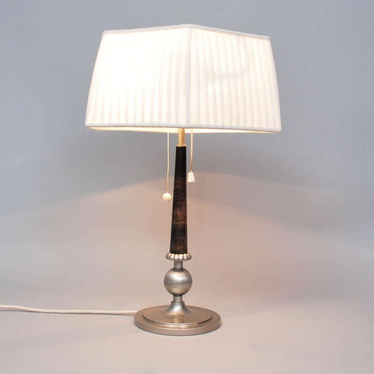 Table lamp from 1925-35, anonymous Sweden.