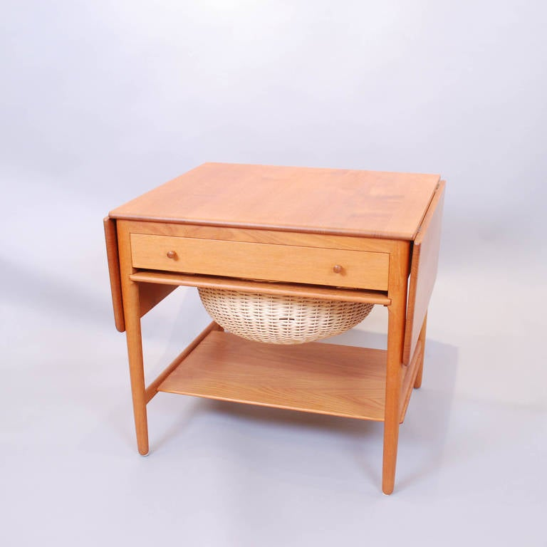Sewing table by hans wegner for andreas tuck furniture Andreas furniture