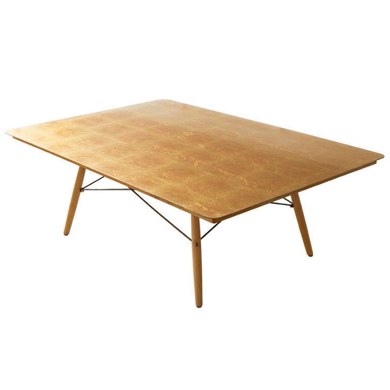 eames anniversary coffee table at 1stdibs. Black Bedroom Furniture Sets. Home Design Ideas