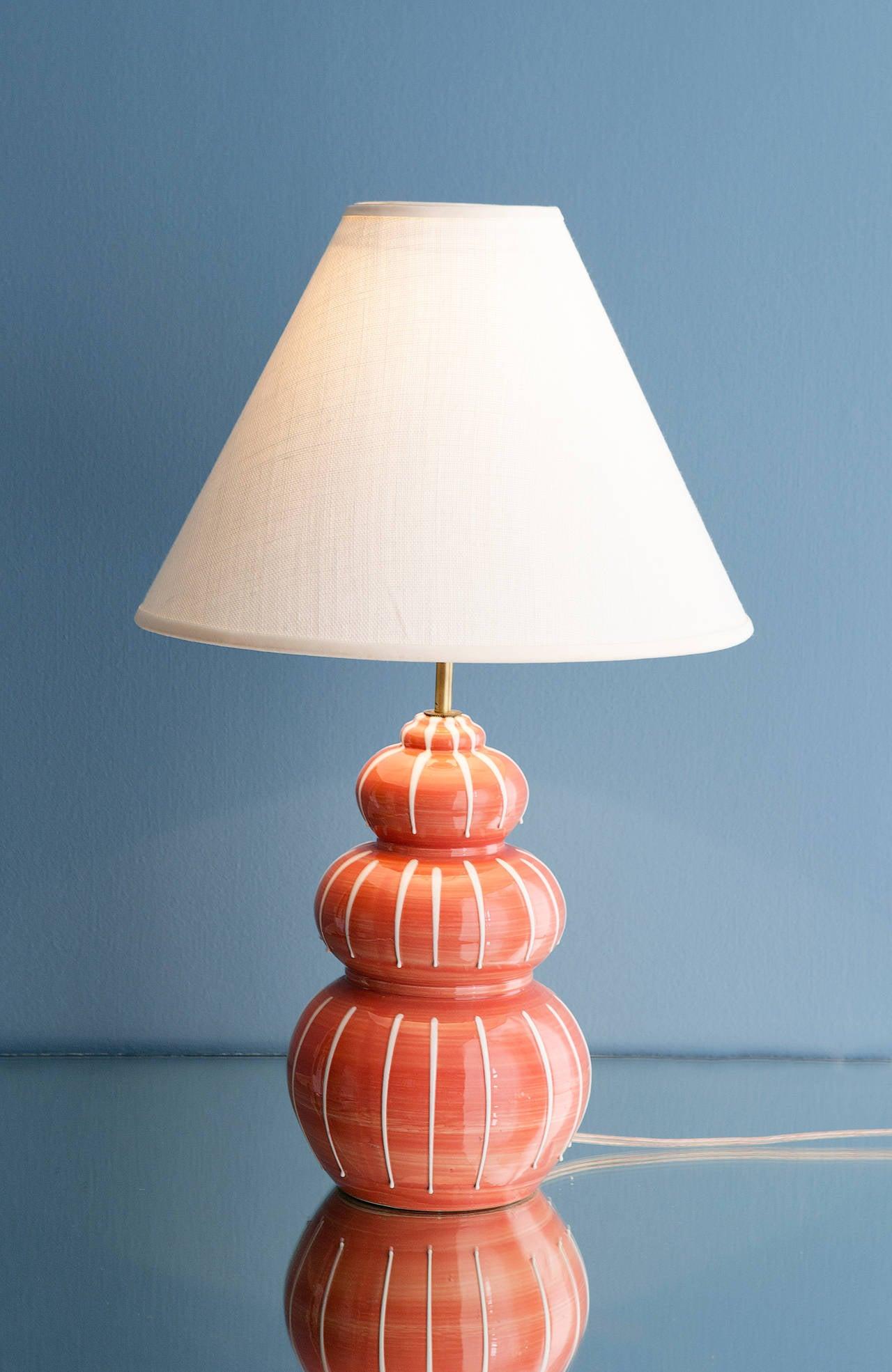 Vintage Ceramic Lamp 27
