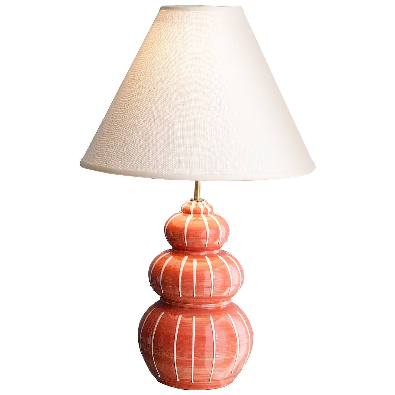Vintage ceramic table lamp at 1stdibs for Ceramic table lamps