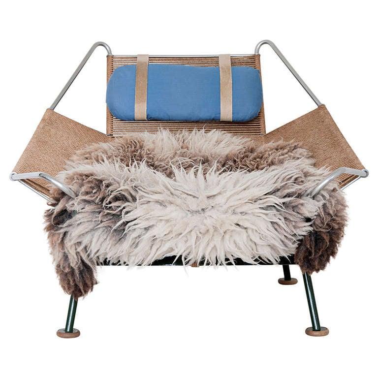 Hans Wegner Flag Halyard easy chair