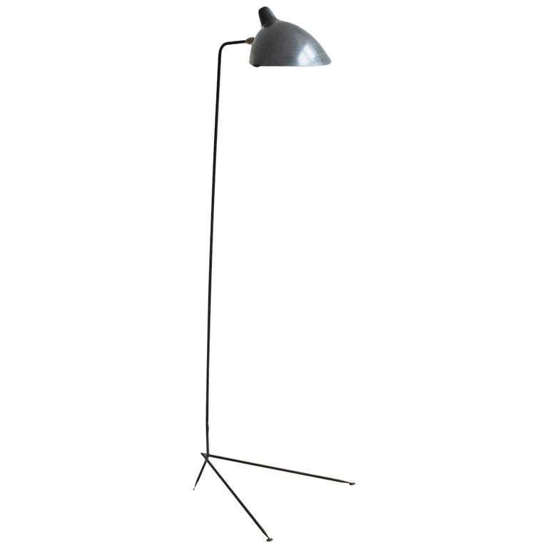 Serge mouille floor lamp for sale at 1stdibs - Serge mouille three arm floor lamp ...