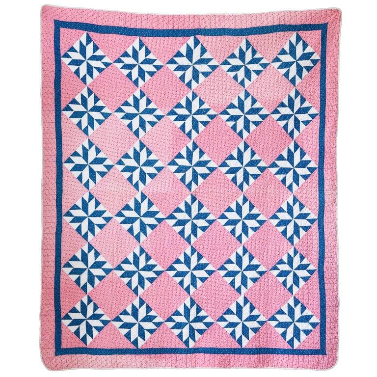 Vintage Patchwork Quilt At 1stdibs
