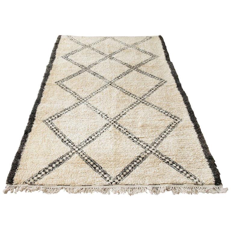 berber beni ouarain rug at 1stdibs. Black Bedroom Furniture Sets. Home Design Ideas