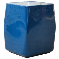 Christophe Delcourt Glazed Ceramic Side Table