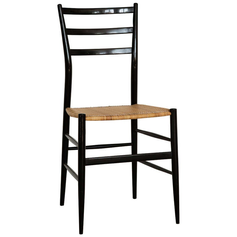 Charming Gio Ponti Superleggera Dining Chair 1
