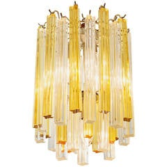 1960s Murano Glass Chandelier