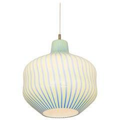 Massimo Vignelli for Venini Glass Pendant Lamp