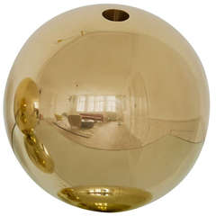 Michael Anastassiades Brass Ball Vase