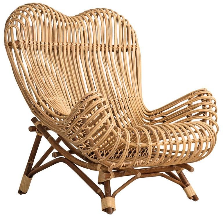 Franco Albini Gala Lounge Chair For Sale