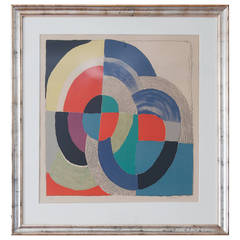Sonia Delaunay 1970s Lithograph