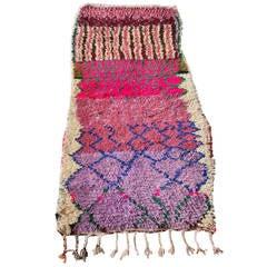 Moroccan Boucherouite Rag Rug