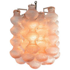 1960s Italian Murano Glass Chandelier