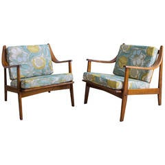Danish 1950s Lounge Chairs