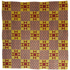 20th Century Vintage Patchwork Quilt