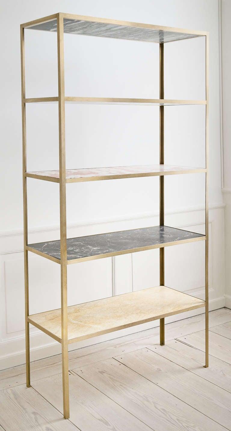 Muller Van Severen Marble Bookshelf At 1stdibs