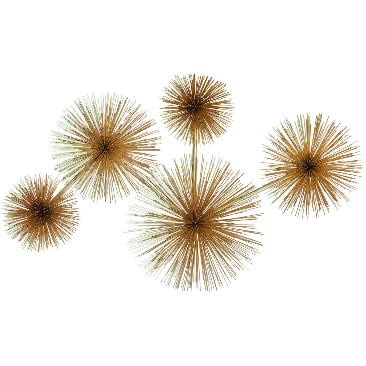 Curtis Jere Urchin Wall Sculpture For Sale