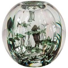 Edward Hald Fish Vase