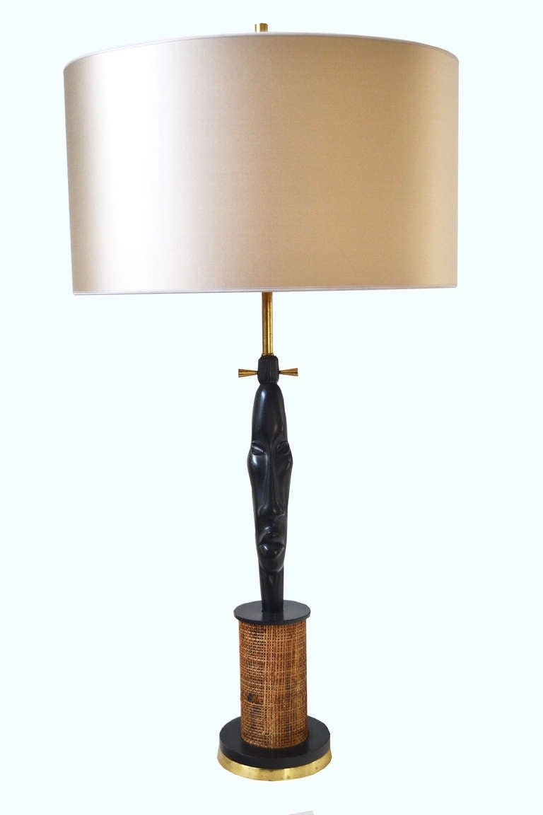 1950 S Lamp African Head For Sale At 1stdibs