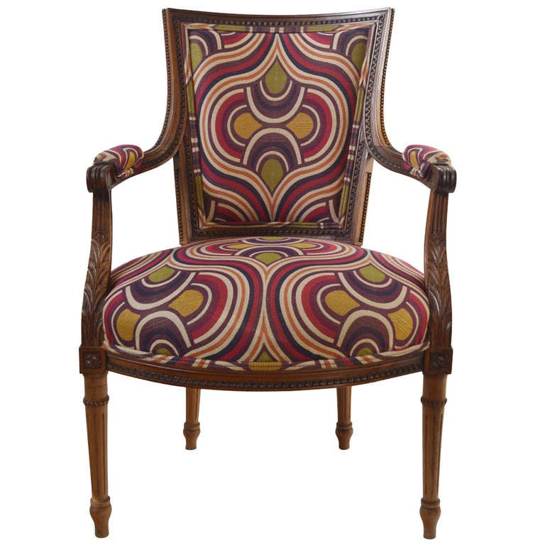 19th Century Louis XI style Fauteuil For Sale at 1stdibs