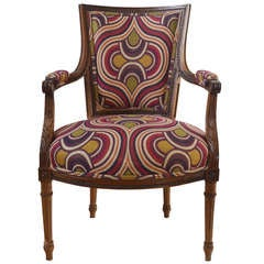 19th Century Louis XI style Fauteuil