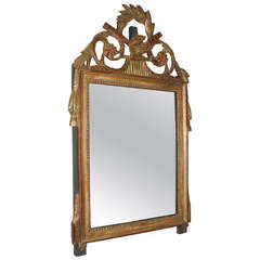 Woodcarved Gilded Mirror