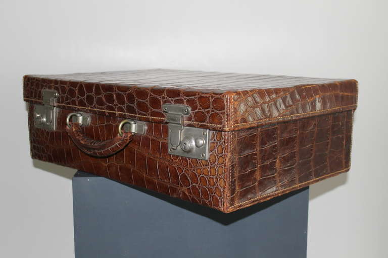 Gents Travelling Case, circa 1920 4