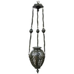 Chandelier in Bronze