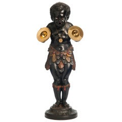 Blackamoor ('Moriaan') in Alloy of Bronze, circa 1850
