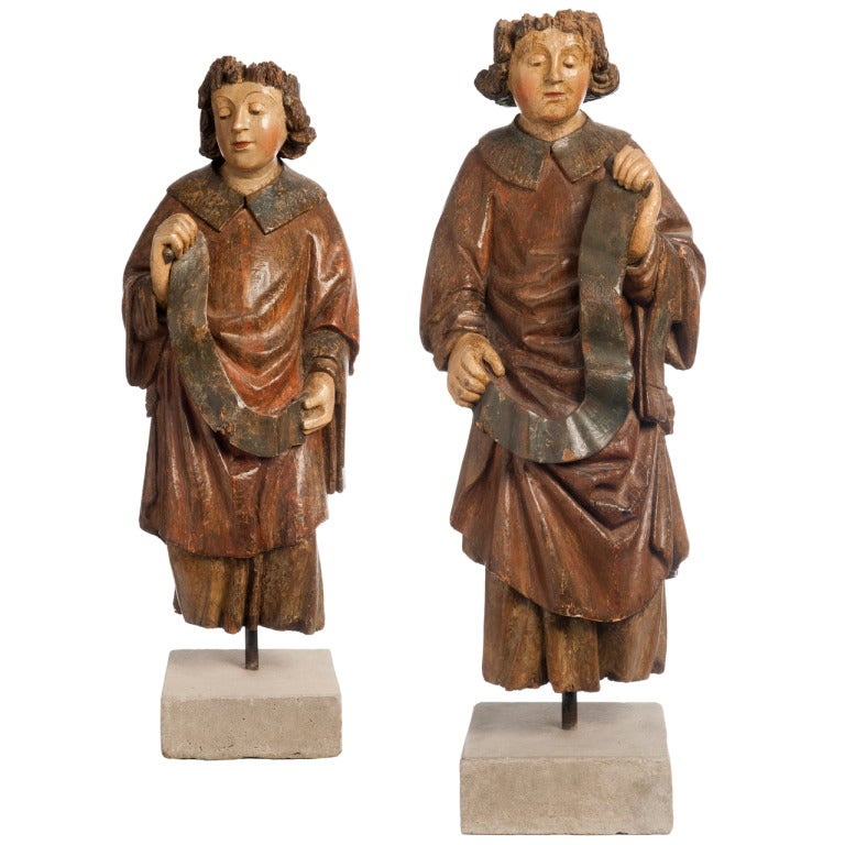 Flemish Pair of Angles 15th Century