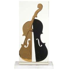 Signed Violin of Fernandez Arman, 1997