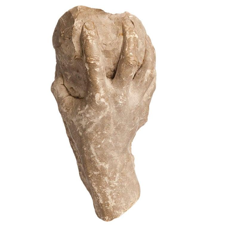 Life-size Hand, circa 1900