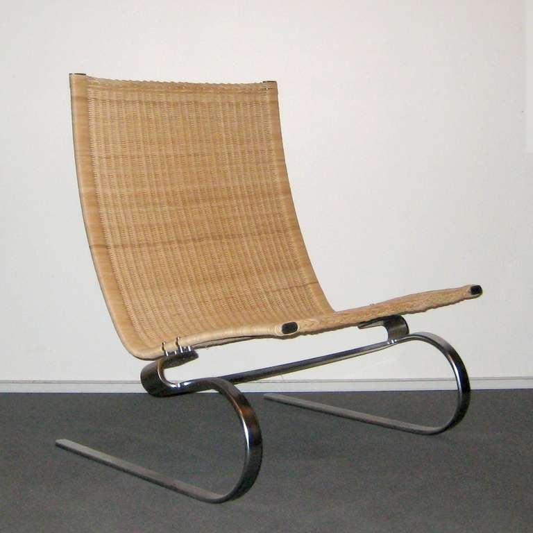 PK20 Cane chairs by Poul Kjrholm For Sale at 1stdibs