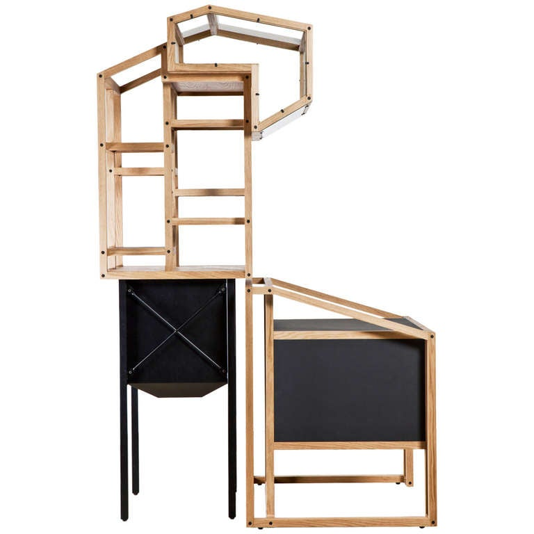 design shelf desk or showcase gravel pant by mieke