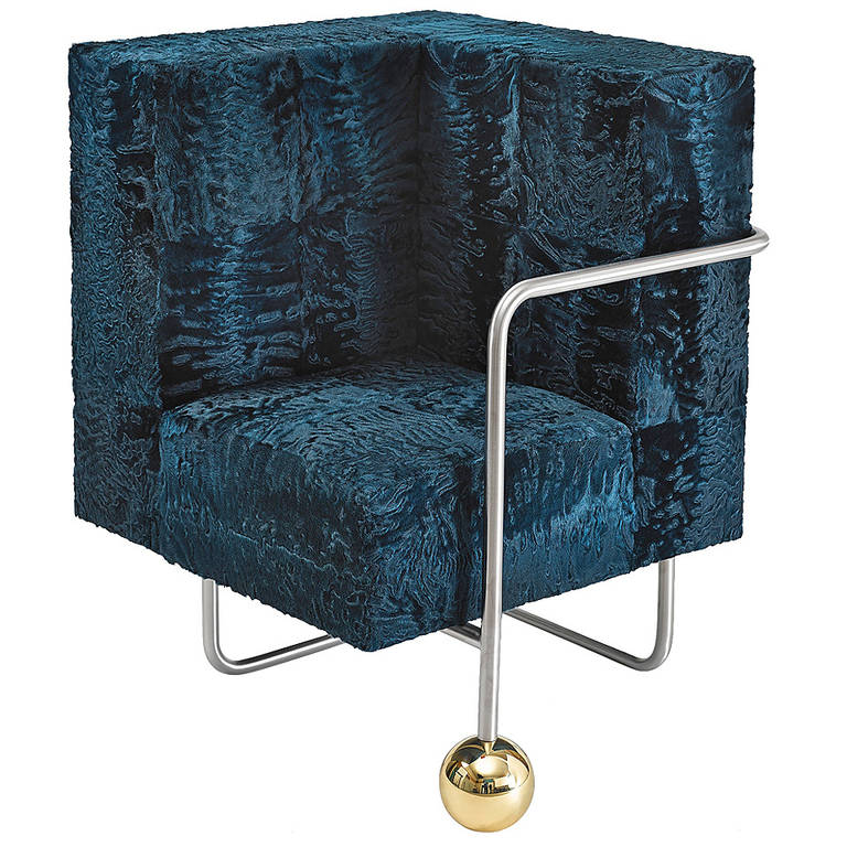 Quot Fur Play Quot Armchair By Sacha Walckhoff At 1stdibs