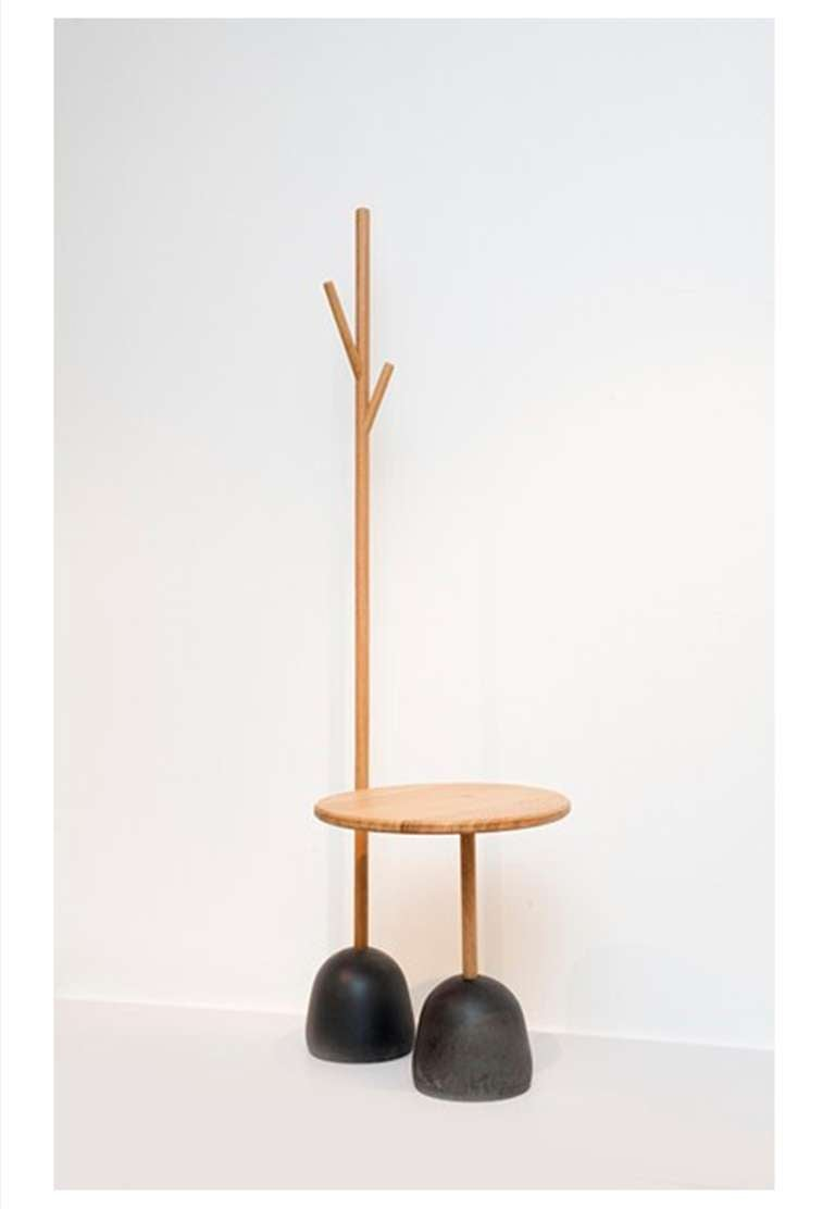 pedestal table quot totem quot by piergil fourqui 233 at 1stdibs