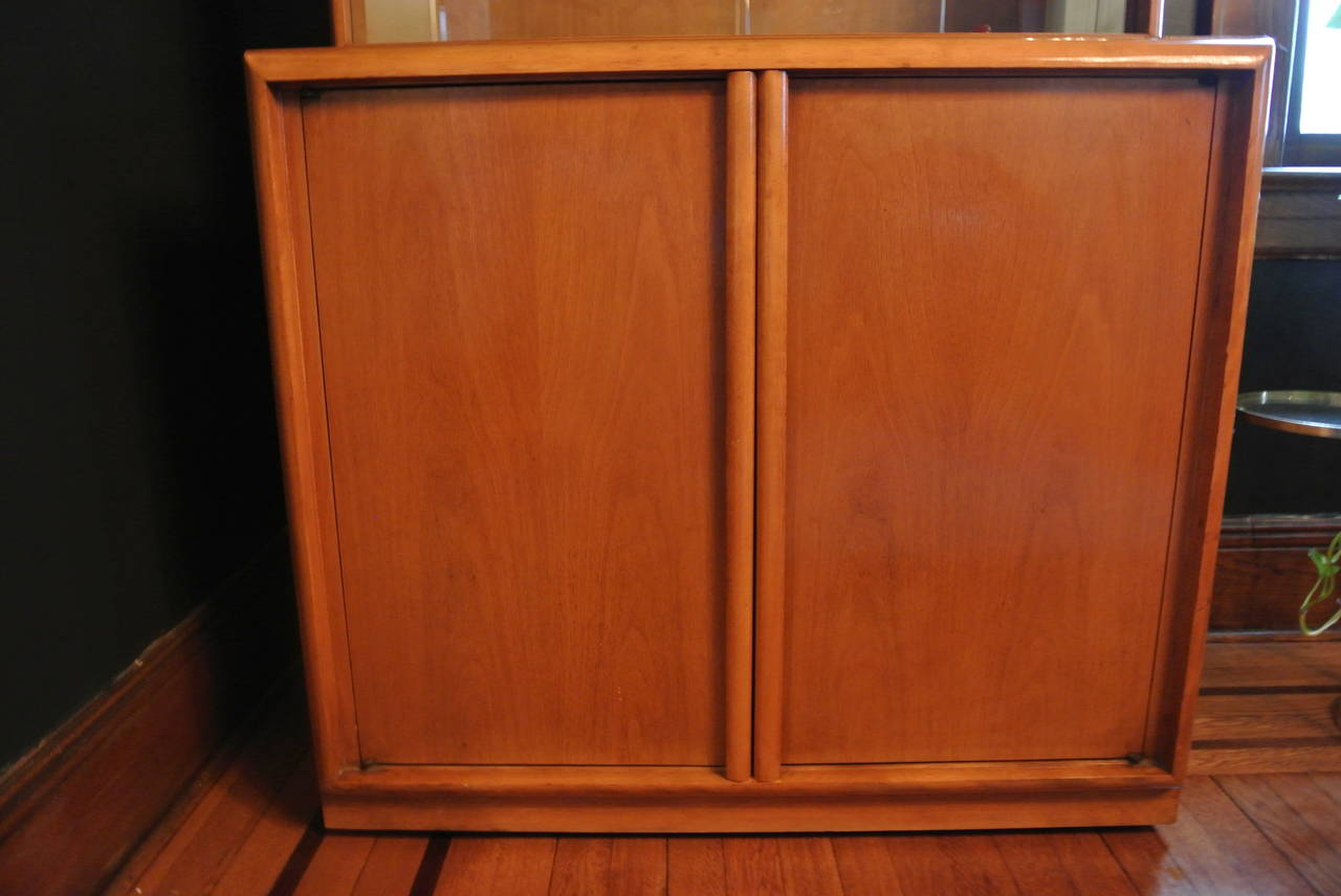 Mid-Century Modern China Cabinet by T.H. Robsjohn Gibbings for Widdicomb For Sale