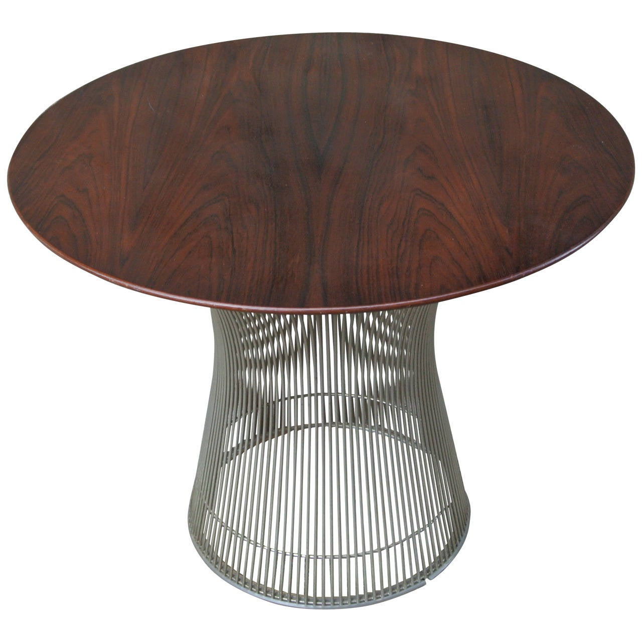 End table by warren platner for knoll at 1stdibs for Table warren platner