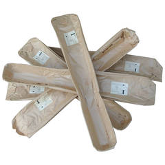 Molded Plywood World War II Leg Splints by Charles Eames for Evans