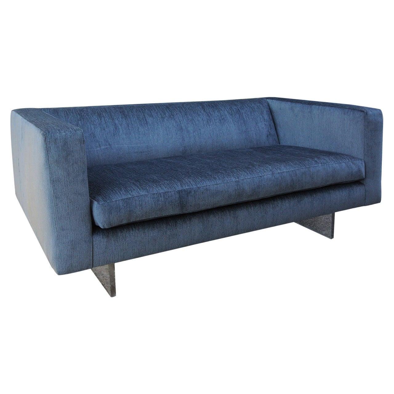 Harvey Probber Sofa on Luctie Base