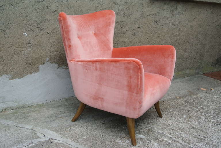 beautiful mid century modern saber leg wingback chair 2 beautiful mid century modern