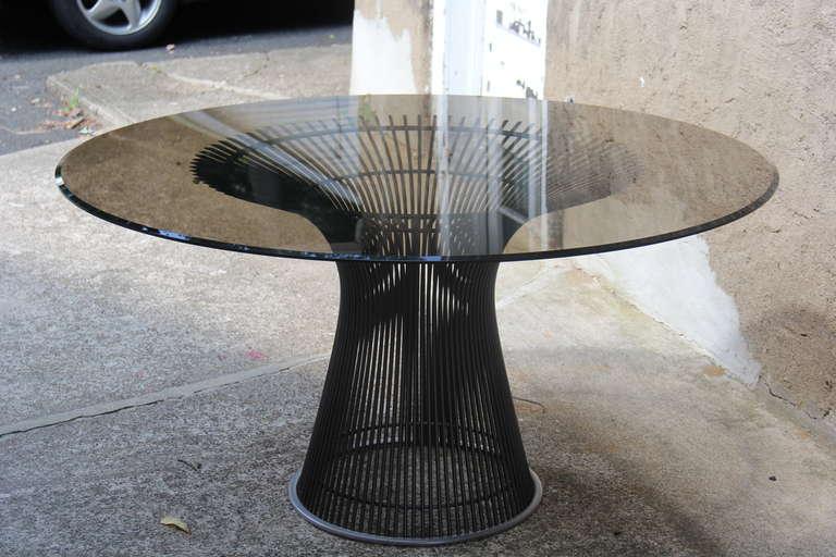 Warren Platner Bronze Dining Table Reissued 3