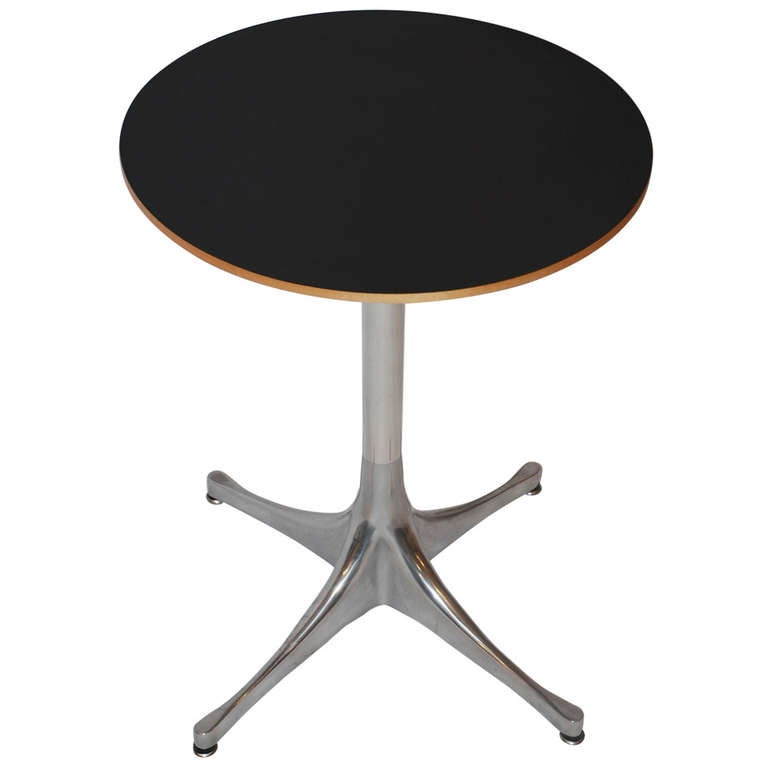 George nelson swag leg laminate table by herman miller at for Nelson swag leg table