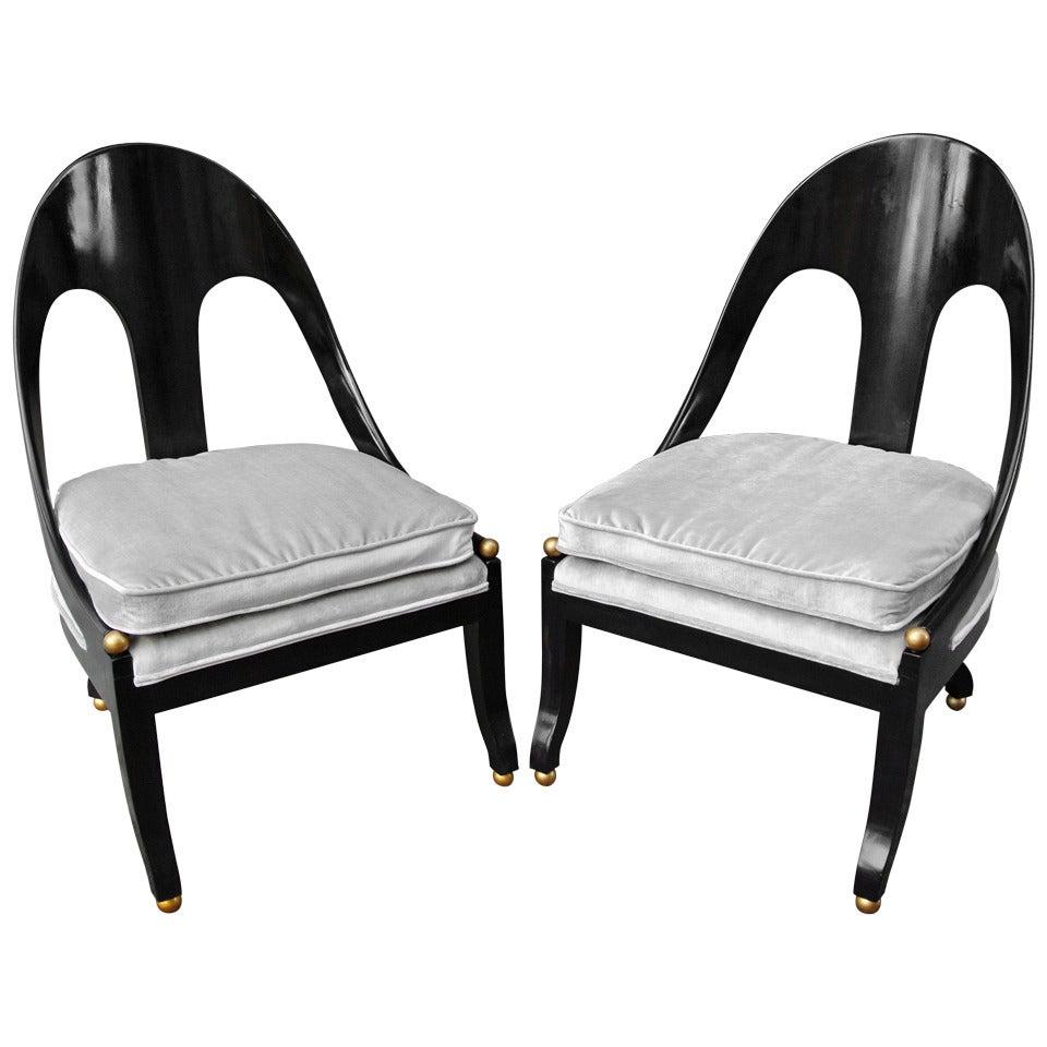 Tremendous Pr Neoclassic Chairs By Michael Taylor For Baker Machost Co Dining Chair Design Ideas Machostcouk