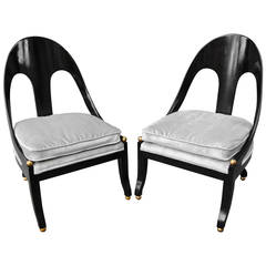 Pr. Neoclassic Chairs by Michael Taylor for Baker