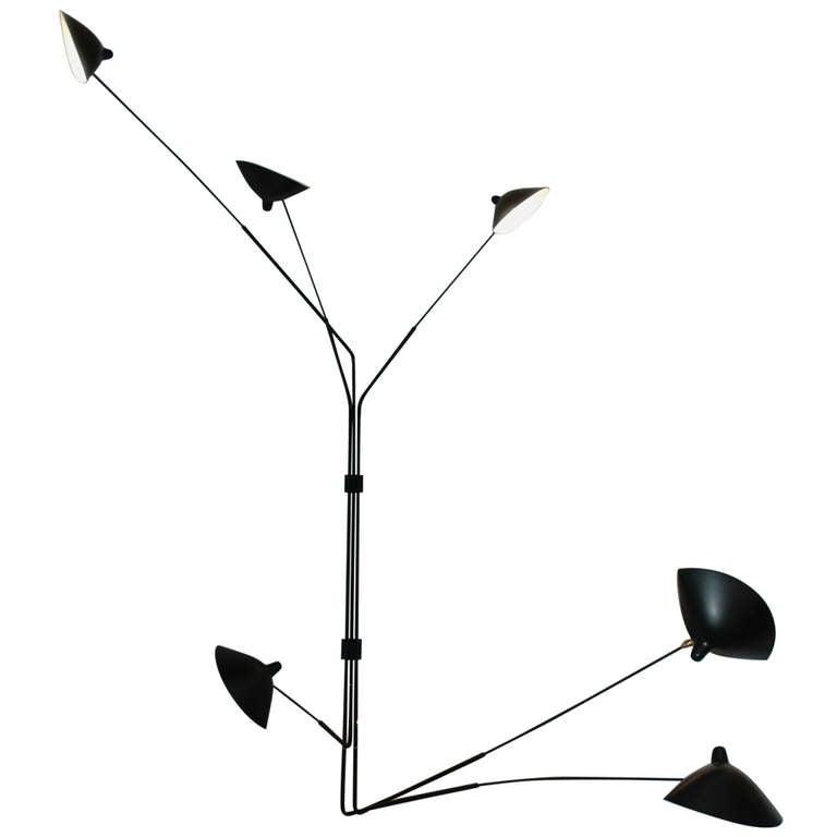 serge mouille applique model monthiers at 1stdibs. Black Bedroom Furniture Sets. Home Design Ideas