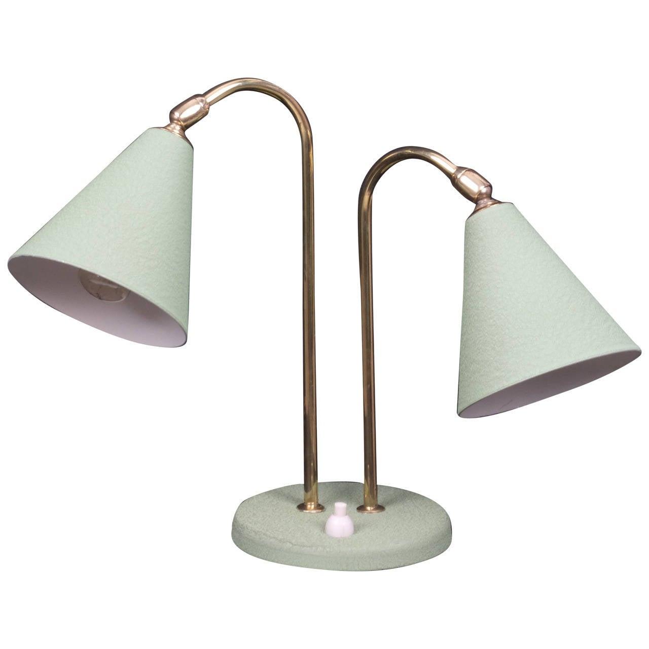 Arredoluce aluminium and brass desk lamp at 1stdibs for Arredo luce